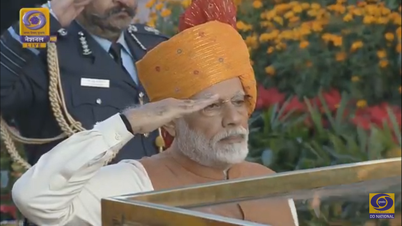 PM at Amar Jawan Jyoti