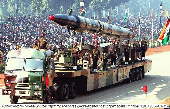 Agni Missile at Republic Day Parade
