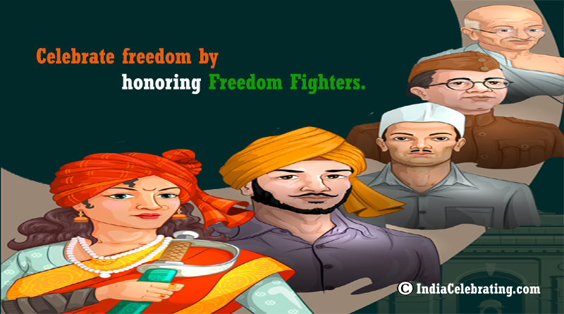 Celebrate Freedom by Honoring Freedom Fighters