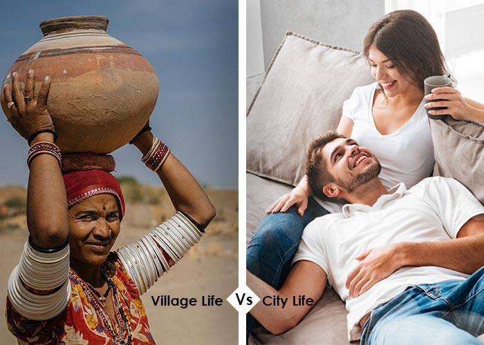 City Life vs Village Life