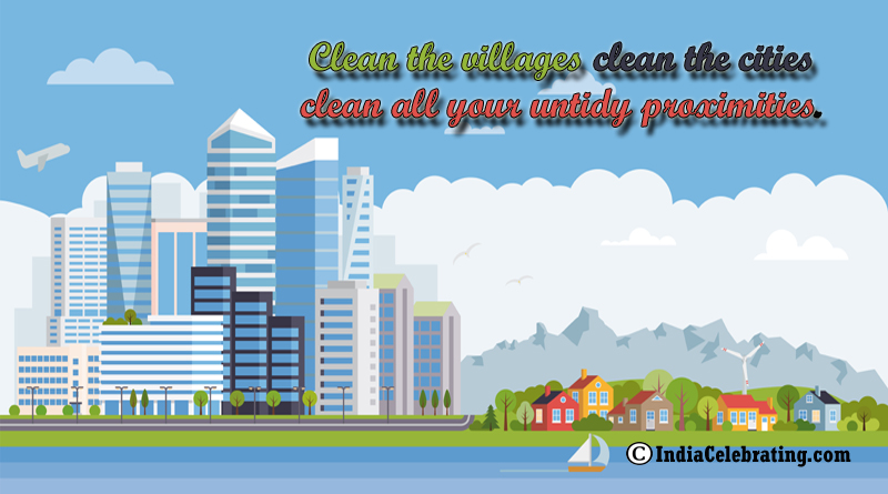 Clean Villages and Cities