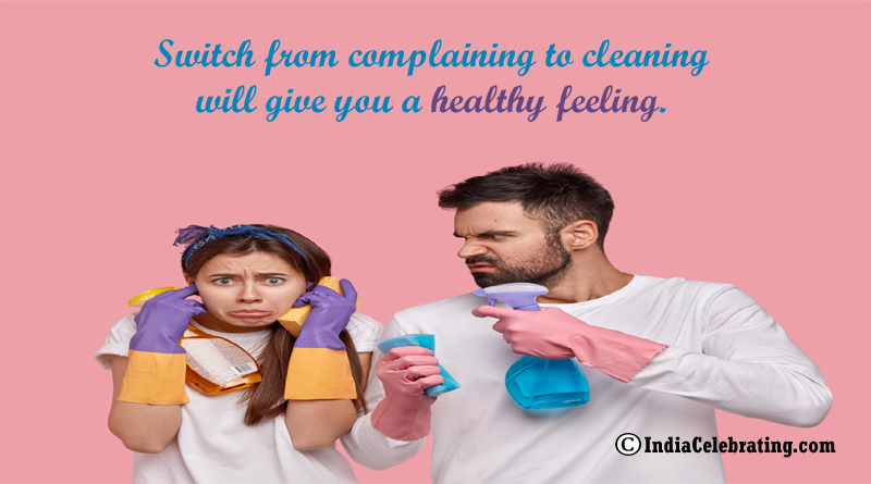 Cleaning Give us Healthy Feeling