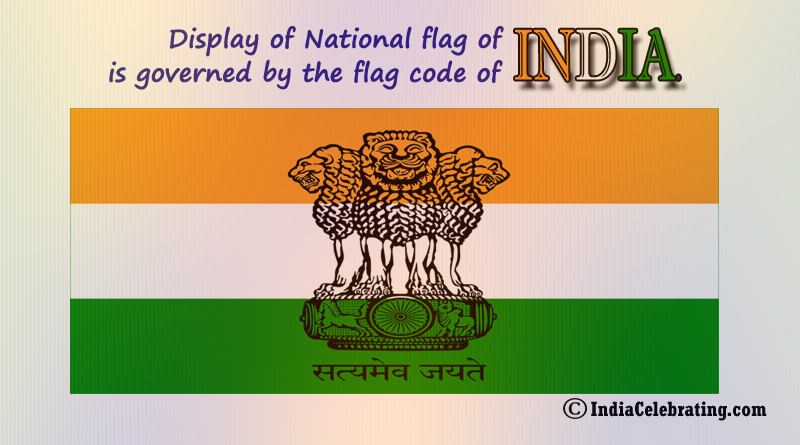 Display of National Flag