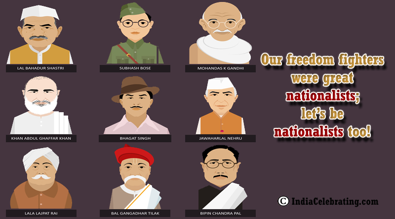 Freedom Fighters are Great Nationalist