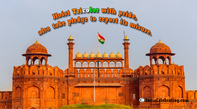 Hoist Tricolor with Pride