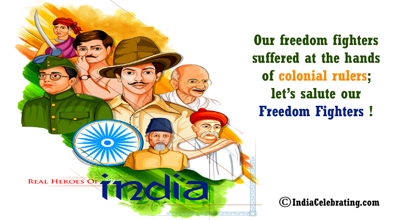 Let's Salute Our Freedom Fighters