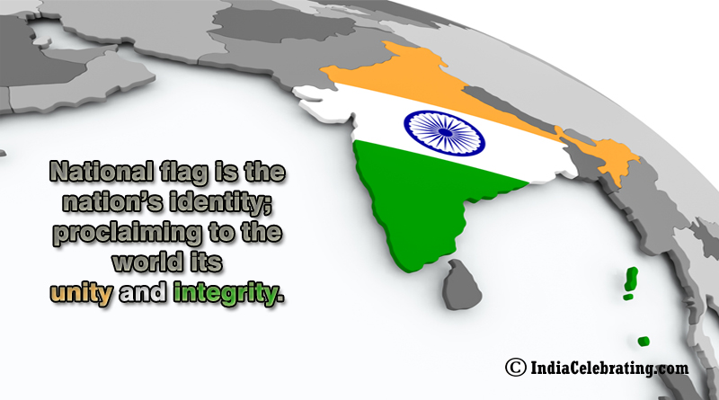 National Flag is Nation's Identity