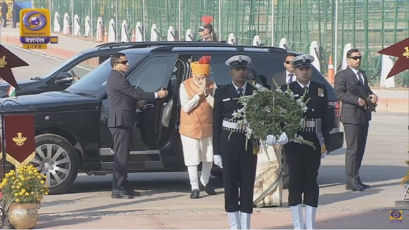 PM Arrival