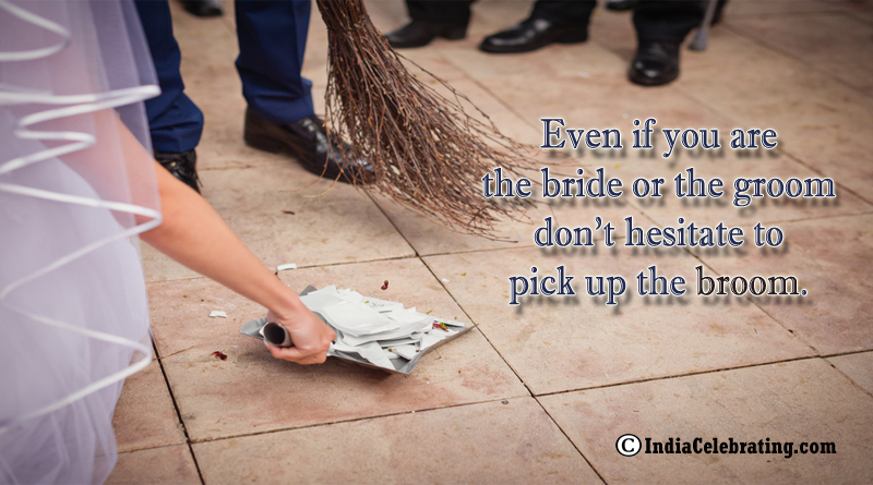 Pick Up the Broom to Cleanup