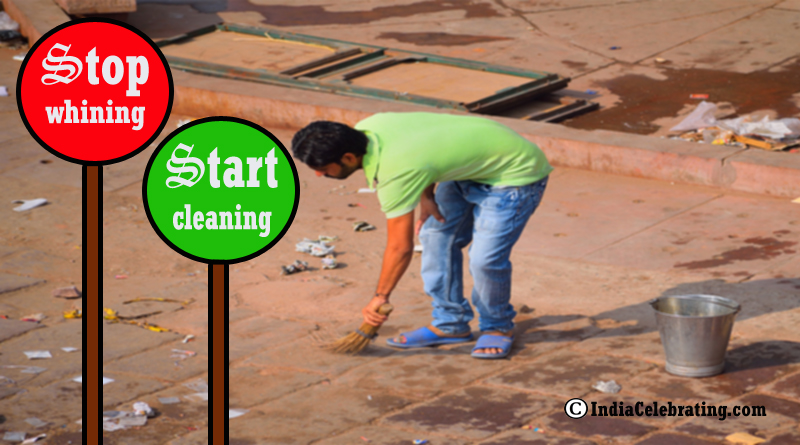 Stop Whining Start Cleaning