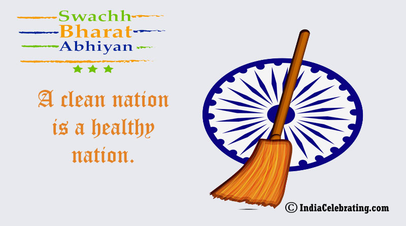 A clean nation is a healthy nation.