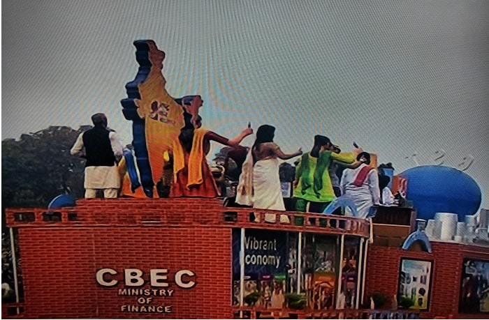 Central Board of Excise and Customs Tableau