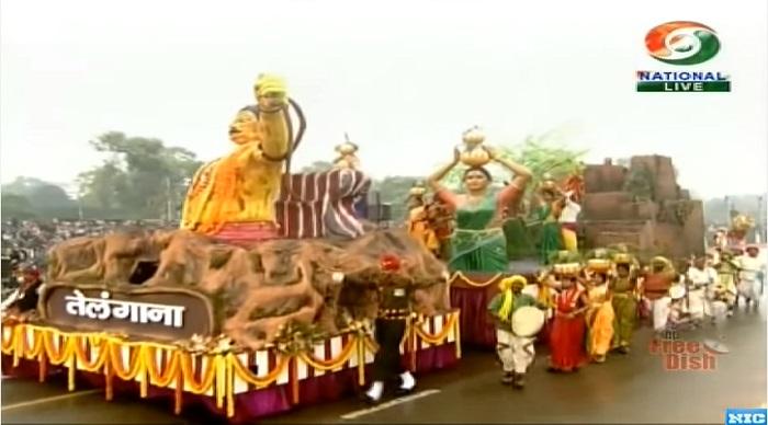 Cultural display of telangana state