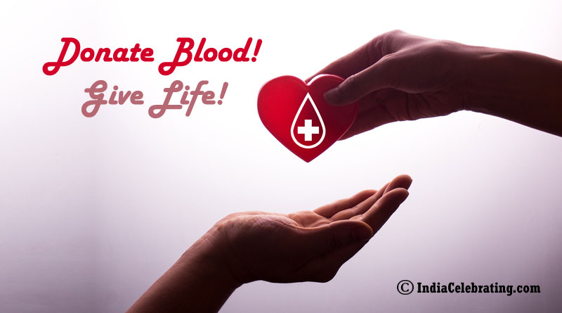 Donate Blood! Give Life!