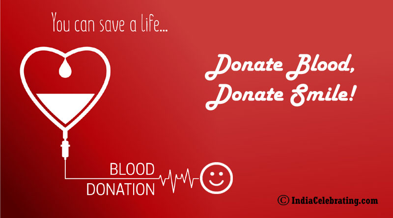 Donate blood, donate smile!