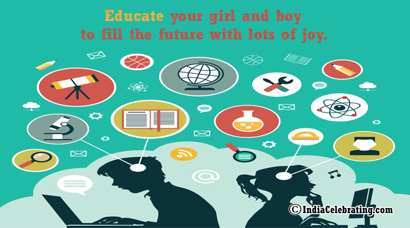 Educate both Girl and Boy