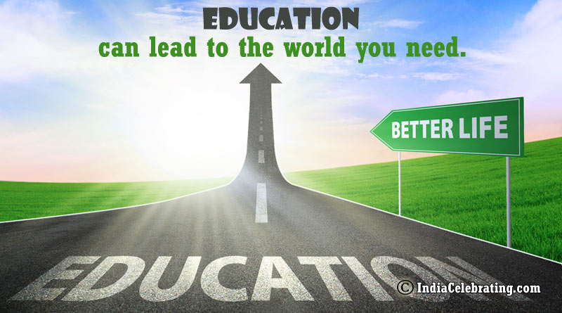 Education can lead to the world you need.