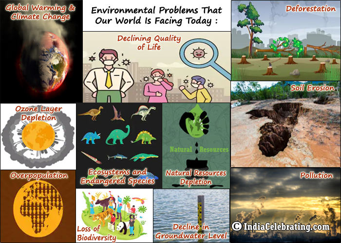 Environmental Problems That Our World is Facing Today