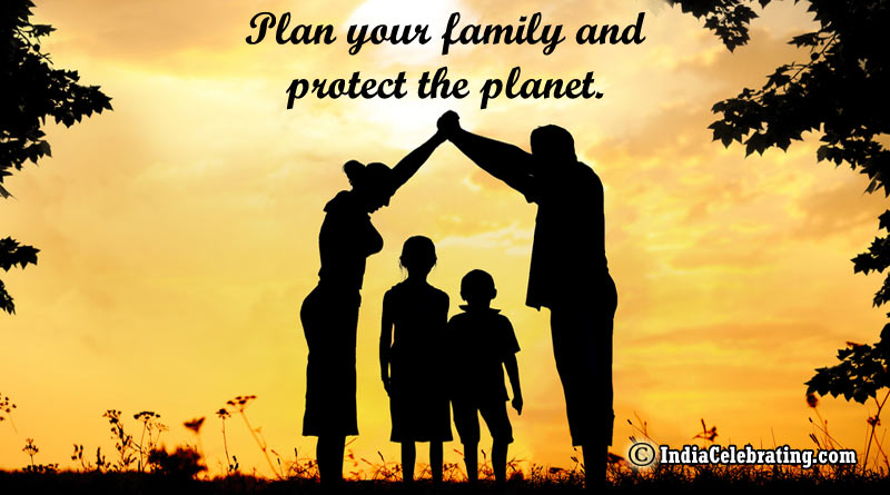 Plan your family and protect the planet.