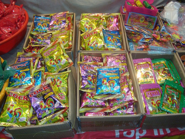 Holi colors, abir and firecrackers