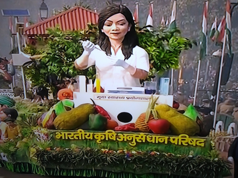 indian council of agricultural research tableau