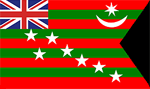 Third Indian national flag in 1917