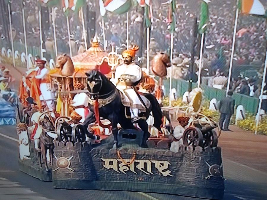 Maharashtra Tableau