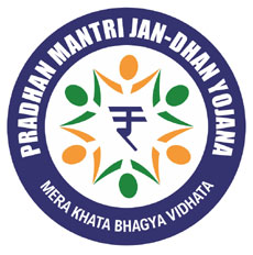Official Logo of Pradhan Mantri Jan Dhan Yojana