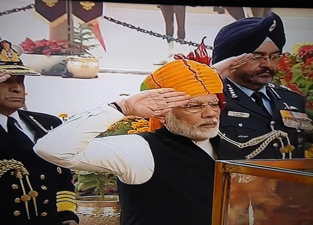 prime minister tribute at amar jawan jyoti